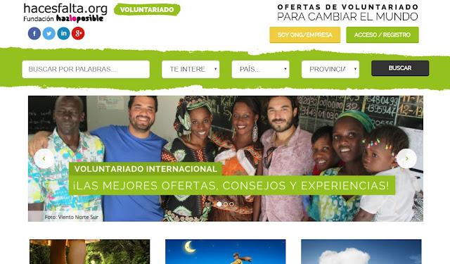 voluntariado paises