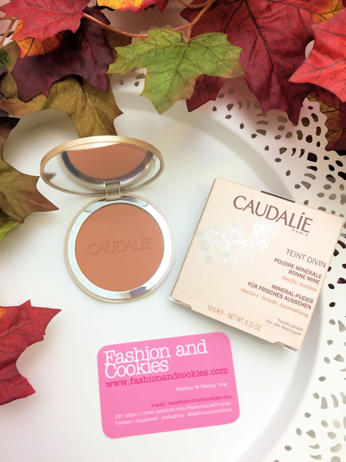 Come mantenere un colorito sano tutto l'anno? Caudalie Poudre Minérale Bonne Mine su Fashion and Cookies beauty blog, beauty blogger