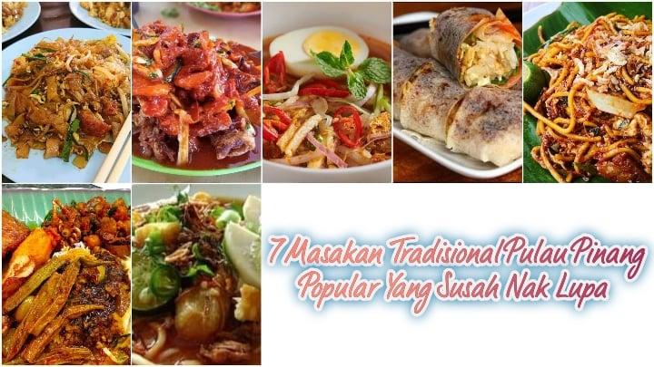 Masakan tradisional pulau pinang