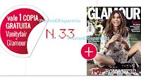 Logo Vanity Fair ti regala Glamour: presenta il coupon e ritirali gratis