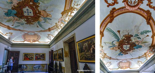 Sala das Armas do Paço das Escolas da Universidade de Coimbra