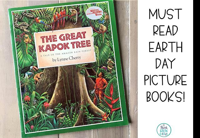 Great Kapok Tree activities for kids