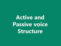 Active and passive voice rules and examples