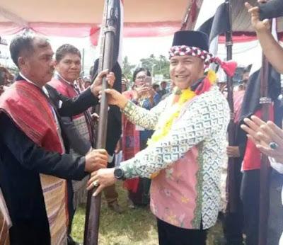 Bupati Zahir Hadiri Pelantikan Suku Batak Batu Bara Bersatu
