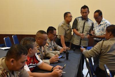 Polres Tanjungpinang : Pelatihan Hari ketiga Cyber Troops Polres Tanjungpinang