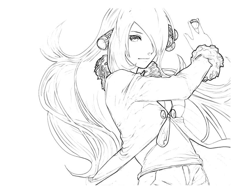 cynthia coloring pages - photo#9