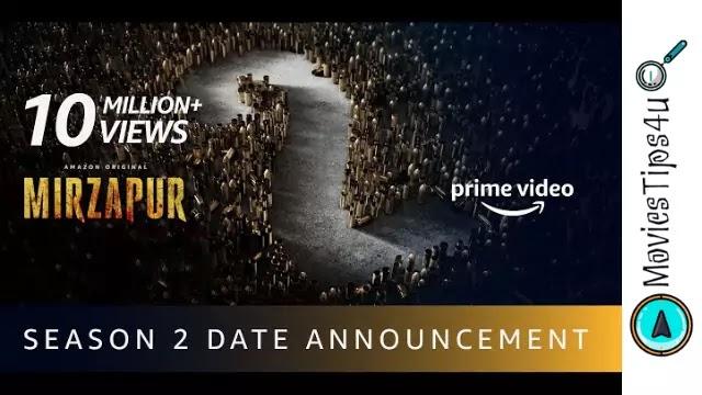 Mirzapur 2 cast release date trailer wiki news