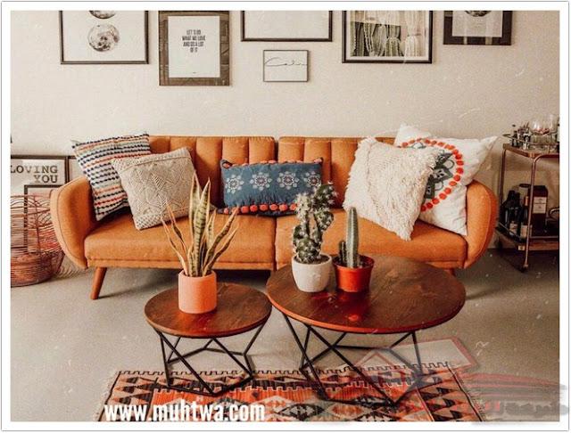 طاولات جانبية مستديرة من خشب الدريفت - تكمل لا يصدق على الكرسي