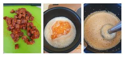 Cabillaud crème de chorizo et écrasé de pommes de terre - Au Menu Du Jour