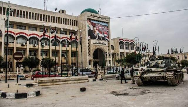 العنوان الجديد لمقر شرطة إدلب