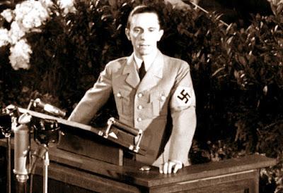Goebbels discursa
