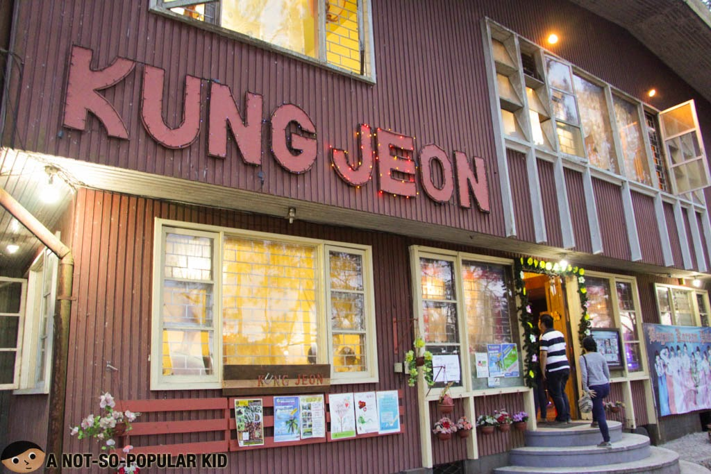 Kung Jeon Korean Place in Baguio