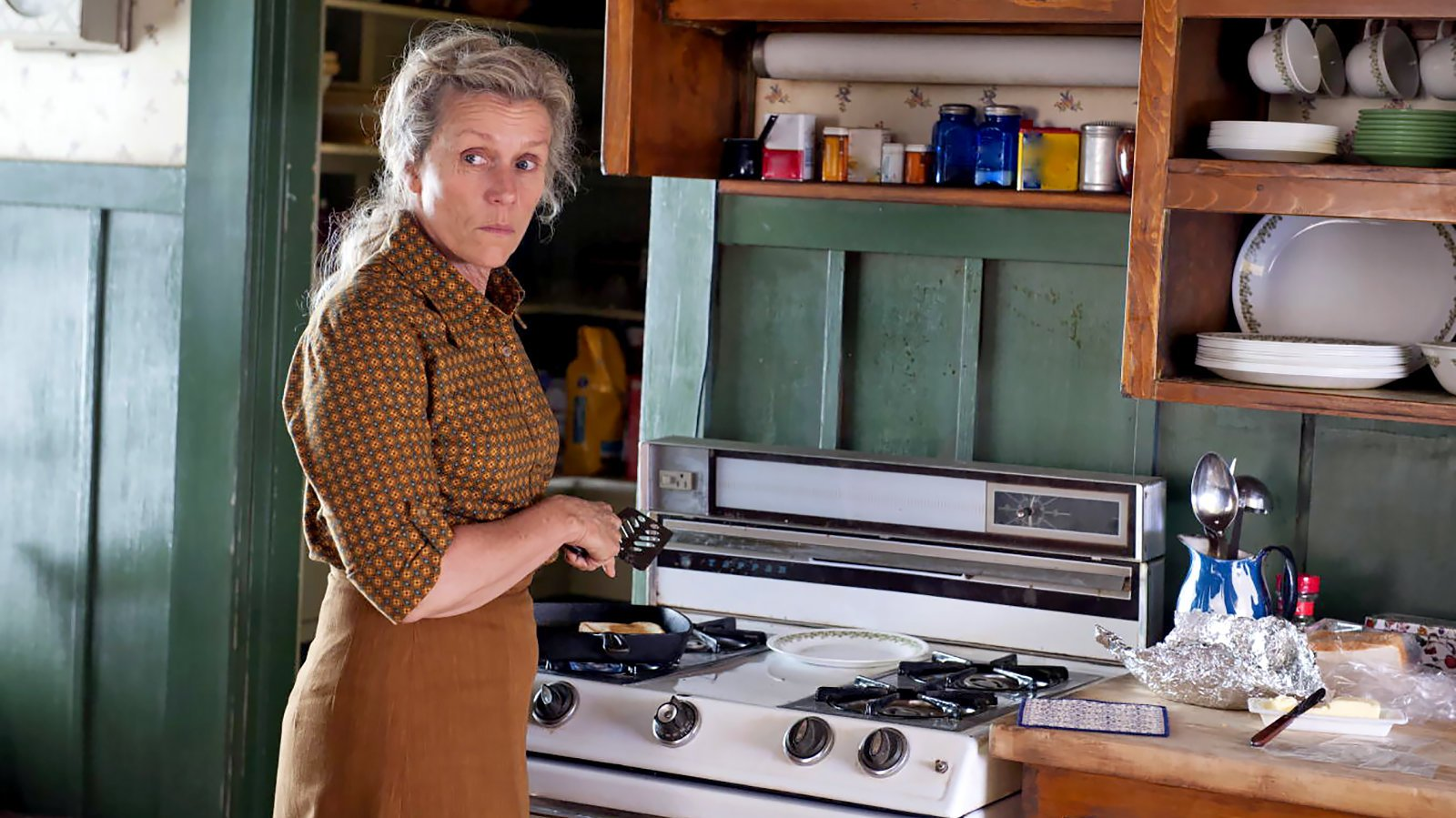 Frances McDormand en 'Olive Kitteridge'