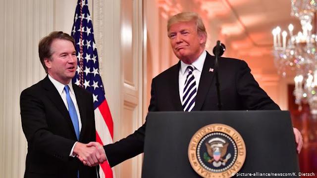 Trump rejeita nova acusação de abuso sexual contra Brett Kavanaugh