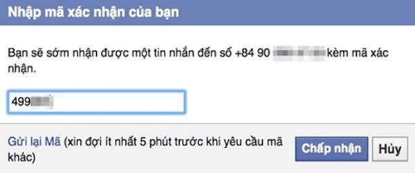 mở khóa facebook