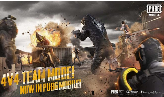 Download Game PUBG Mobile 0.13.0 APK - Mode Tim Deathmatch 2