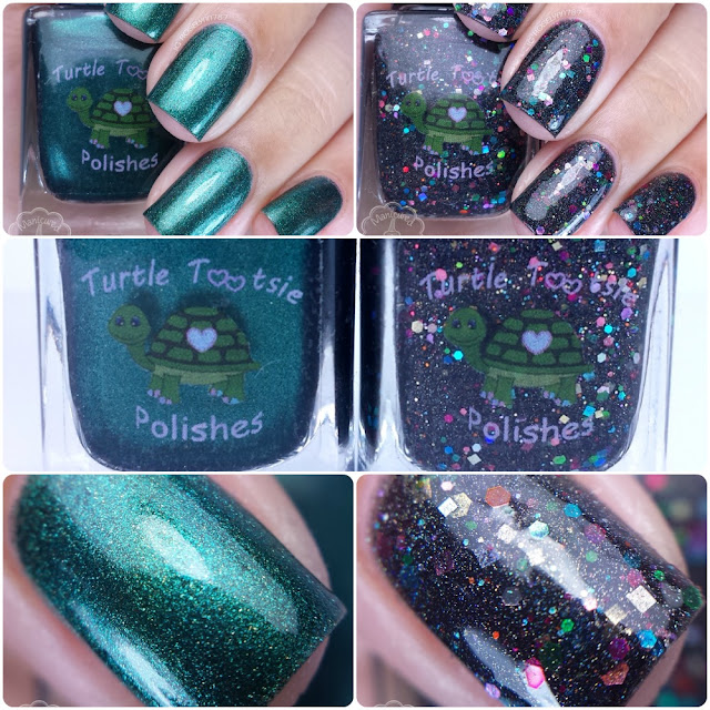 Turtle Tootsie Polish - Black Friday Duo
