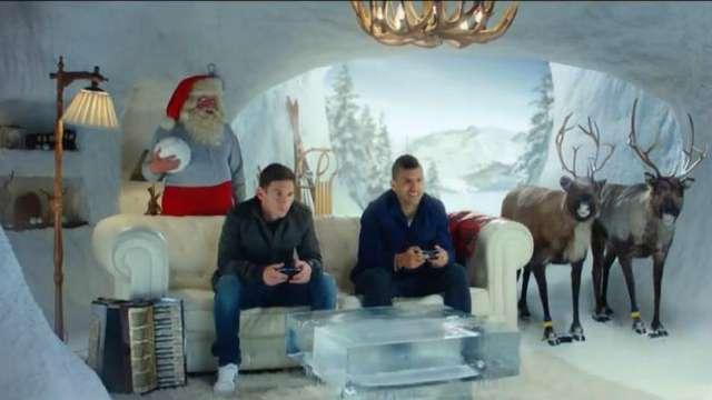 EA Sports une a Messi y Agüero para su spot navideño