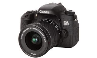 Harga Kamera Canon 760D Terbaru dengan Spesifikasi Lengkap