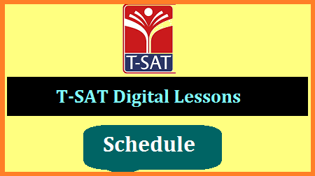 T-SAT Network Online Digital Classes Day wise Subject wise  Schedule by SIET  Telangana Schools Digital Classes time table under T SAT Network by State Institute of Education and Technology Download Here. TS Schools T-SAT Mana TV Time Table for eLearning using Digital lessons. SIET released Day wise schedule for Telugu Hindi English Mathematics General Science Physical Science Bio Science Social Studies for classes 1st 2nd 3rd 4th 5th 6th 7th 8th 9th and 10th. Students may utilise this good opportunity to learn Online watching digital Content by subject experts in T SAT Network.