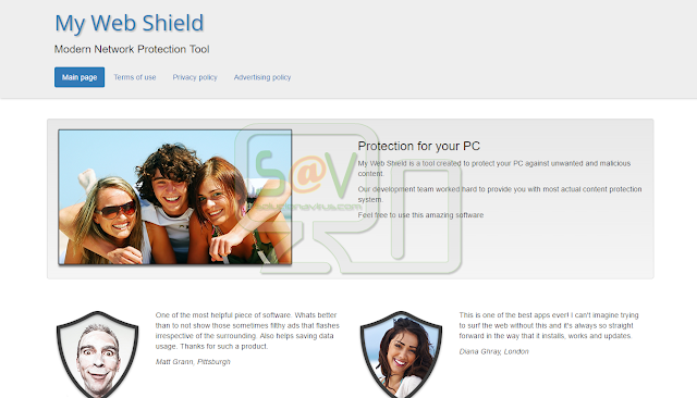 My Web Shield (Adware)