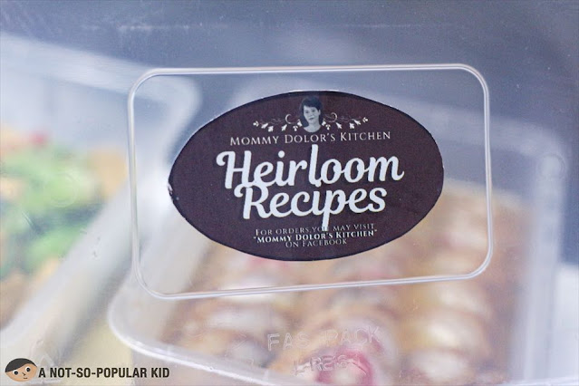 Mommy Dolor's Kitchen - Heirloom Recipes