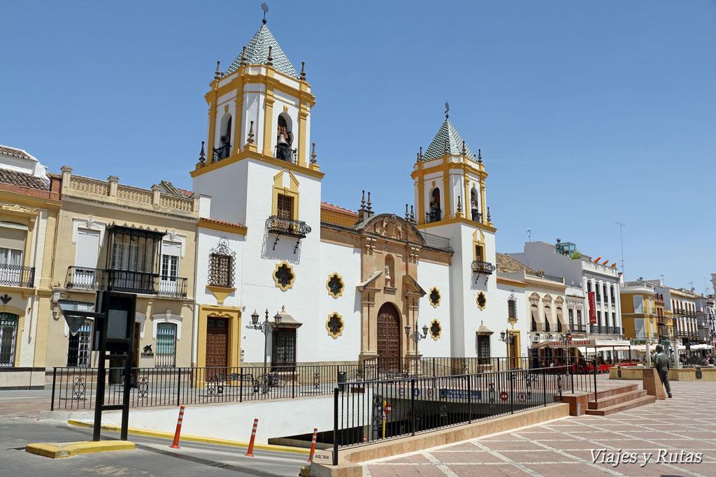 Iglesia del Socorro en la Plaza del Socorro de Ronda