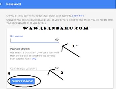 Cara Merubah Password Email Gmail Dengan Mudah.