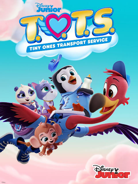 @DisneyJunior Orders A Second Season of T.O.T.S Ahead of the Series September Premier #DisneyJunior