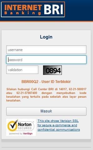 Cara Mengatasi User ID Internet Banking Terblokir