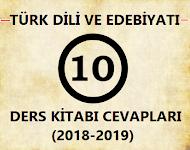 10. Sınıf Türk Dili ve Edebiyatı MEB Yayınları