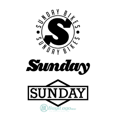 Sunday Bikes Logo Vector