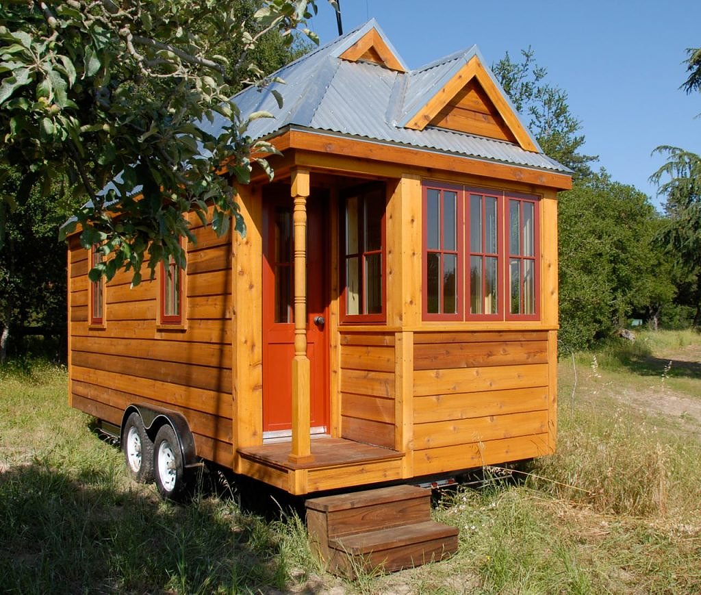 Fencl Tiny House From Tumbleweed Tiny House Company TINY HOUSE TOWN