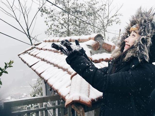Kinh nghiệm du lịch Sapa 3 ngày 2 đêm: Tuyết đã trắng trời, để lại một kỷ niệm khó quên