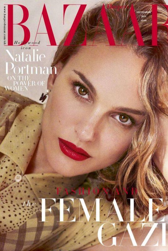 Natalie Portman Clicked For the Cover of Harper's Bazaar Magazine, UK September 2019