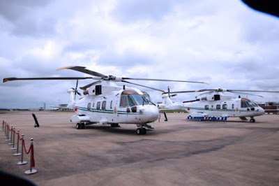 President Muhammadu Buhari GCFR Hands over Two Presidential Aircraft to Nigerian Air Force