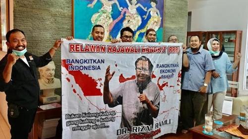 Relawan Rajawali Bangkit Yakin Hanya Rizal Ramli yang Bisa Perbaiki Indonesia