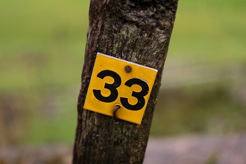 el poder del número maestro 33