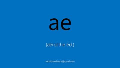 aérolithe-éditions