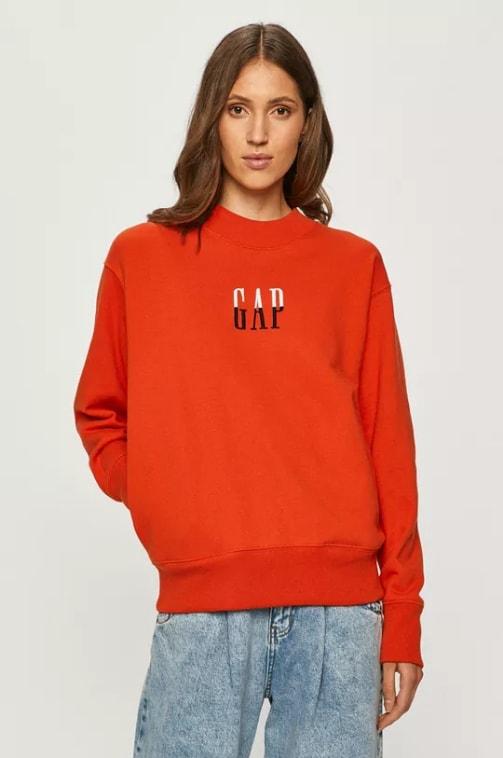 GAP - Bluza femei rosie simpla