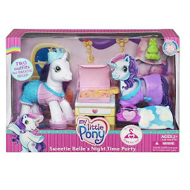MLP Sweetie Belle Accessory Playsets Sweetie Belle's Night Time Party G3 Pony