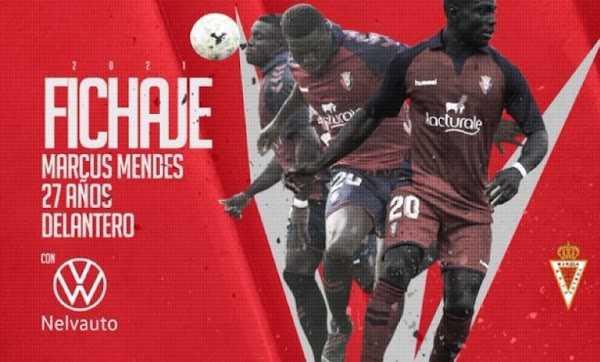 Oficial: Real Murcia, firma Marco Mendes