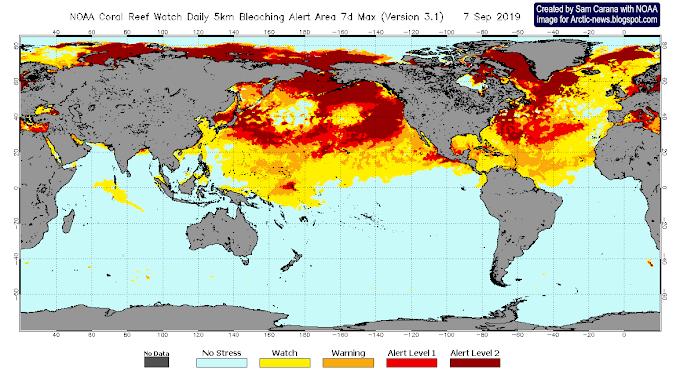 Arctic Ocean overheating