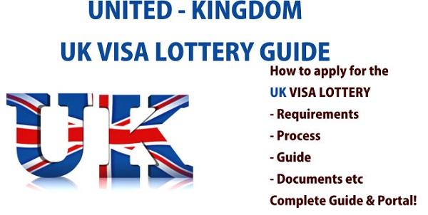UK Visa Lottery Application Form