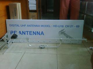 ANTENA TV DIGITAL UHF TANJUNG PRIOK JAKARTA UTARA