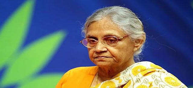 दिल्ली की मुख्यमंत्री रहीं शीला दीक्षित का निधन   Delhi Ki Mukhymantri Rhi Sheela Dixit Ka Nidhan