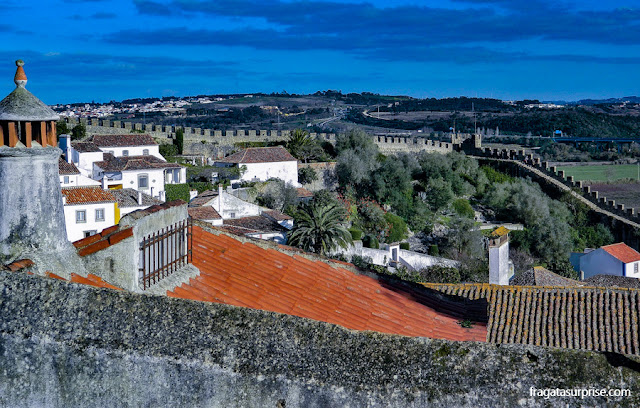 Muralhas de Óbidos, Portugal