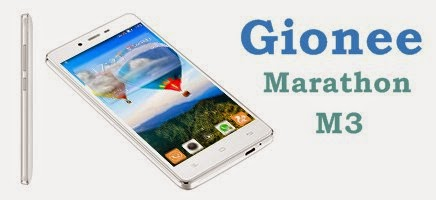 GioneeMarathon M3: 5 inch, 1.3 GHz Quadcore Android Phone Specs, Price