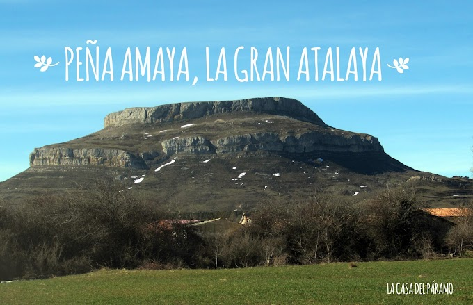 Peña Amaya, la gran atalaya de los cántabros.