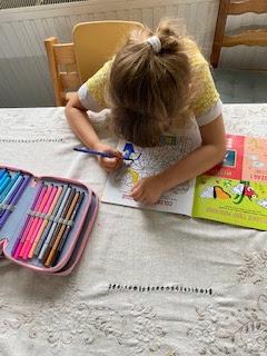 Coloriage du magazine La Petite Salamandre